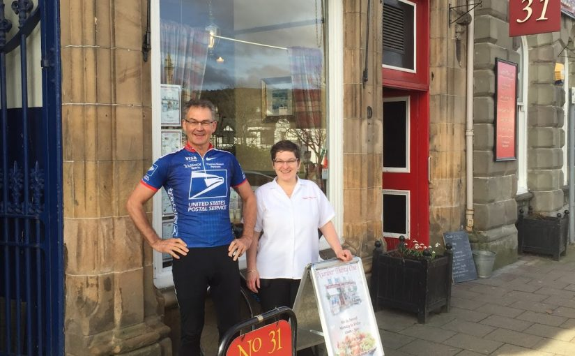 Great Coffee on the 5 Lochs Cycling Route – A Heavenly Cycling Spot at Blairgowrie