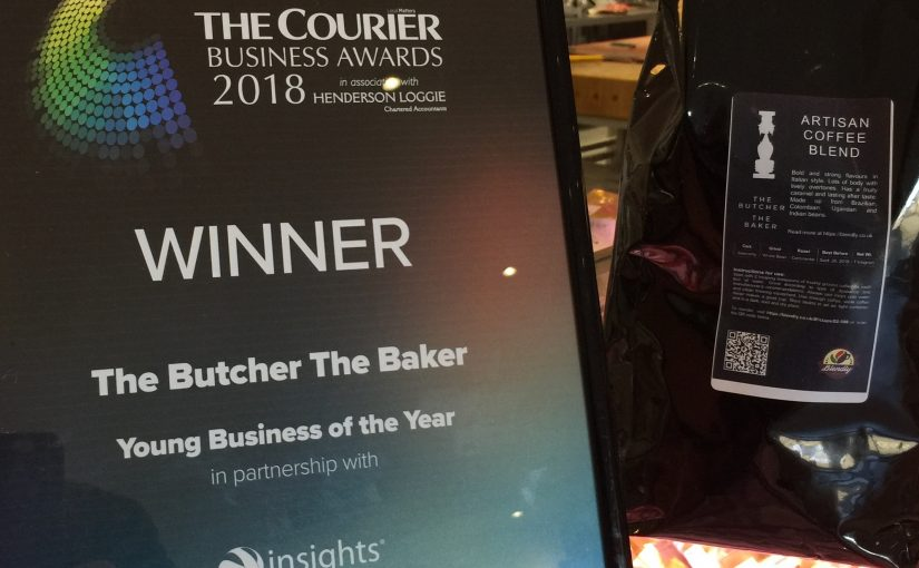 The Butcher The Baker Wins The Best Young Business of the Year
