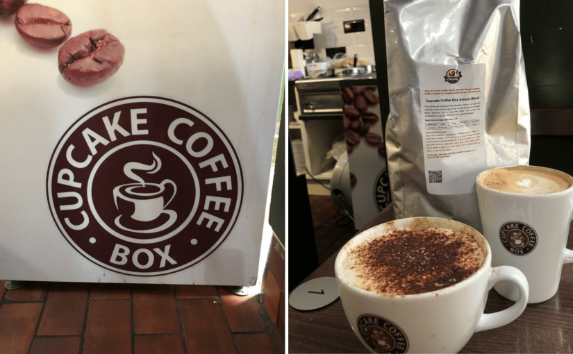 Mike's Custom Blends Mix Great Coffee with Cakes in a Busy High Street Setting