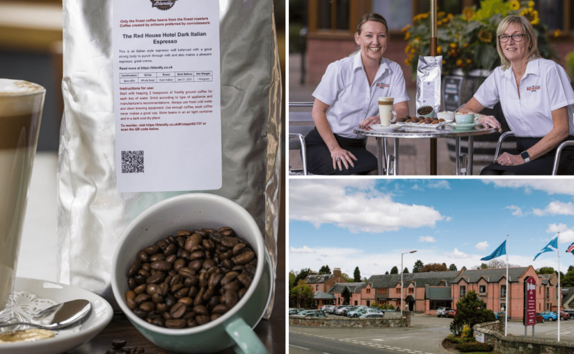 A Bespoke Coffee Experience for The Red House Hotel's 40th Anniversary